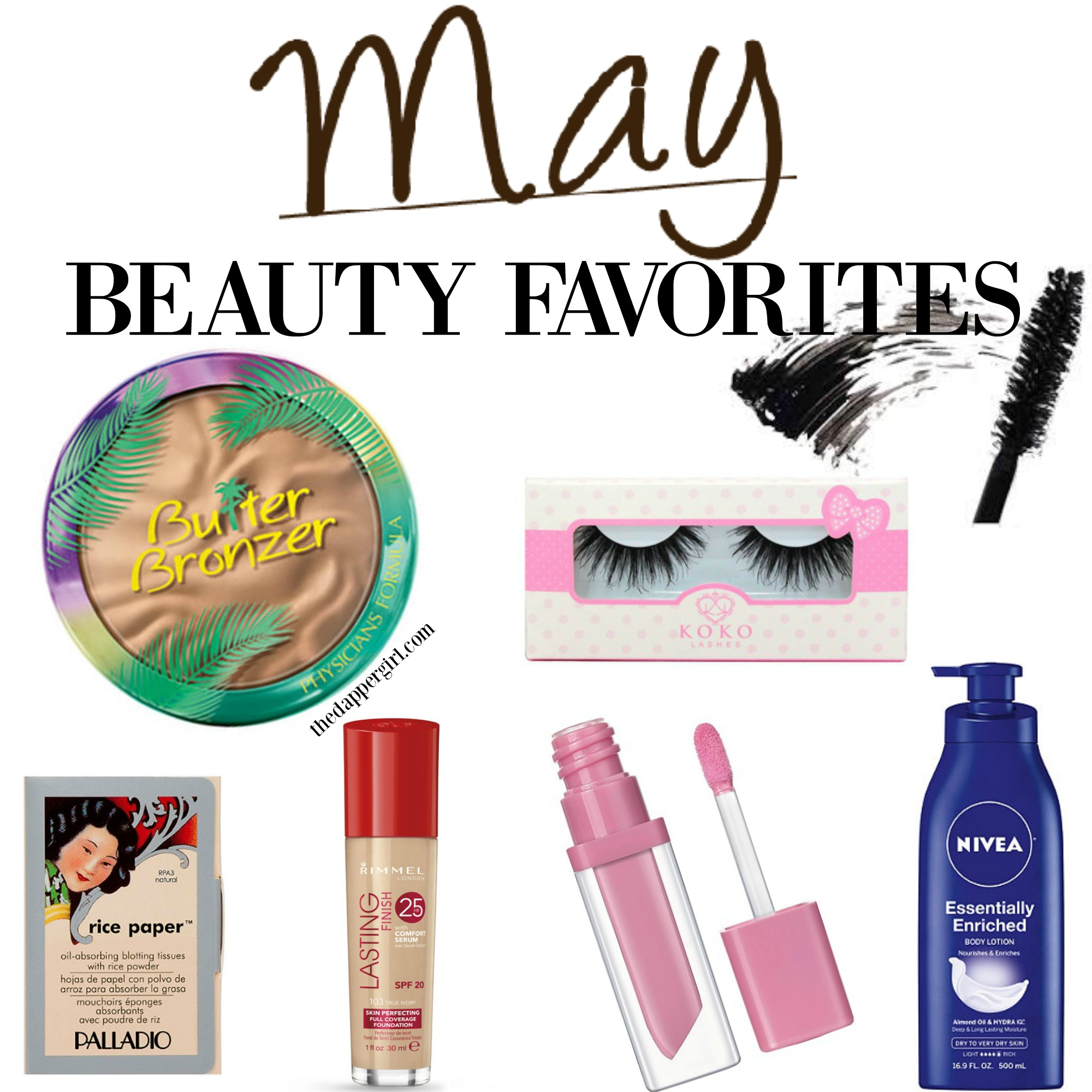 MAY BEAUTY FAVS